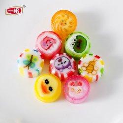Hand van de Snack van het Suikergoed van het Fruit van het Punt van de uitvoer de Taaie Zure - het gemaakte Fruit van de Mengeling Gevormd Hard Suikergoed