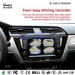 Универсальный автомобильный черный ящик для 3D-Car 360 градусов Car камеры камеры с птицами во время движения автомобиля с системой и парковка автомобиля зеркало заднего вида с монитором навигации GPS