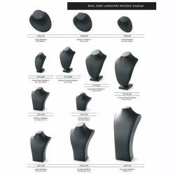 Оптовая торговля настроить черный провод фиолетового цвета кожаные аксессуары ювелирные изделия на дисплее