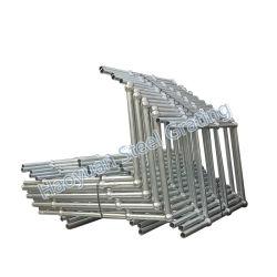 De bouw Gegalvaniseerde Leuning van de Stangen van het Traliewerk van het Kogelgewricht van de Pijp