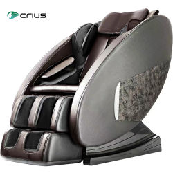 Crius Full Body Electric 3D Zero Gravity fauteuil de massage Shiatsu FOOT SPA