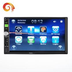 2 DIN 7660-audiospeler voor in de auto Smart Mirror Link Steel Wielbesturing Car Video Player USB/Aux/TF VLC APK Car MP5 Speler