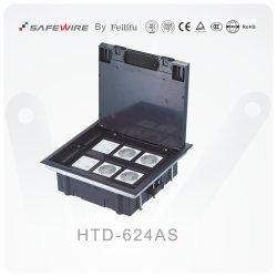 Matériau ABS monté sur sol Sockets/Audio Visual Sockets / boîte de jonction