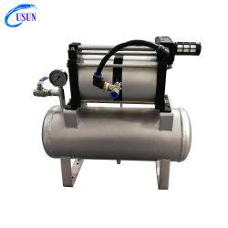 Modelo Usun: 4ab02-B 8-16 Bar da unidade da bomba de pressão de ar com reservatório de 20 L para injeção de moldagem