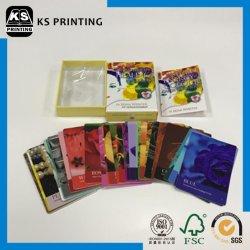 Premium-4-Farb-Kartehochglanz-Kunstpapier Hochglanz-Laminierdruck