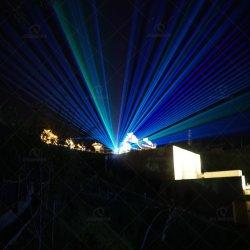 عرض ليزر خارجي RGB بقدرة 22 واط، ضوء ليزر، حماية ضد الماء IP65