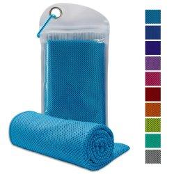 Настраиваемый логотип печать летом Используйте лед охлаждения полотенце для спорта