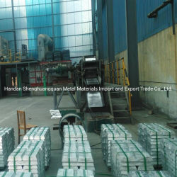 Цинк Ingot используется в автомобильной промышленности и производства