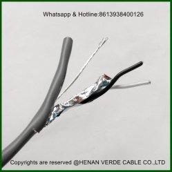 Paire torsadée ignifuge PVC isolation XLPE Le président sur le fil blindé Câble d'un instrument de musique