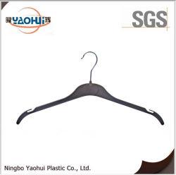 Wäscherei Plastic Hanger mit Metal Hook für Clothes