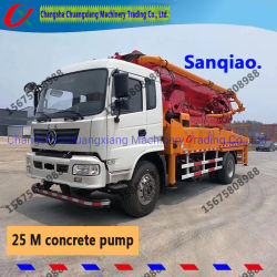 Sany 37m de Chassis Gebruikte Concrete Pomp van de Vrachtwagen Isuzu