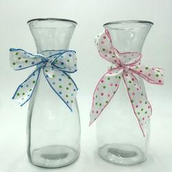 Jarrón de porcelana esmaltada secos florero de vidrio arreglo de flores