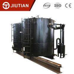 Простота в эксплуатации завод по производству древесного угля Carbonization плита