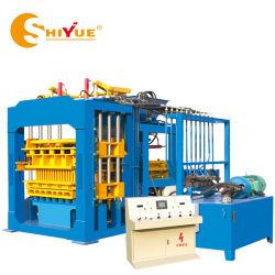 Qt hidráulica máquina bloquera10-15 ladrillos automática máquina Maker