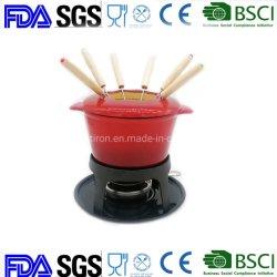 中国からのOEM ODM LFGBのFDAの鋳鉄のFondueの製造業者