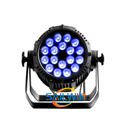 Van de UV Waterdichte LEIDENE van Sailwin 18PCS 5in1 Rgbaw het Licht Projector van het PARI