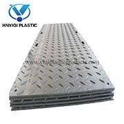 HDPE de Antislip Plastic HDPE van de Mat van de Dekking van de Grond Mat van de Weg voor Nut en het Onderhoud van de Infrastructuur