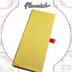 ذهبيّة لون [كرفت] ورق مقوّى هبة يعبّئ صندوق لأنّ [بن/] [أكّسّور/] [كسمتيك/] [جولر/] عقد