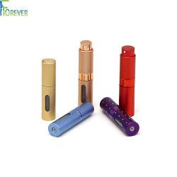 Différentes couleurs Spray Twist Off rechargeables Bouteille de voyage facile Cosmétiques Les cosmétiques