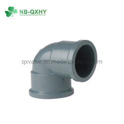 PVC di alta qualità accessori per tubi del gomito UPVC di 90 gradi NBR5648