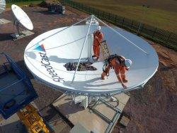 C диапазона Ku Rxtx 6.2m, антенны
