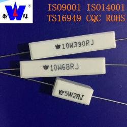 Rx27 Résistances de résistance au ciment enroulées en céramique Rx27 2W-100W