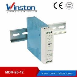 قضيب DIN بجهد 5 فولت وبجهد 5 فولت بقدرة 20 واط للتيار المتردد/التيار المستمر بقدرة 40 واط بقدرة 60 واط وحدة تزويد بالطاقة لتبديل خرج SPS أحادي