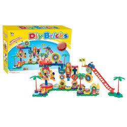 プラスチック教育おもちゃのブロック構築はもてあそぶDIYの煉瓦(H9020030)を