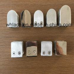 Connecteur de tube réglable de coulage pour escaliers de la main courante Frameless Balustrade raccord de verre