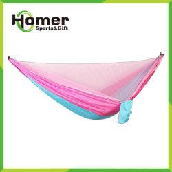 Deux de plein air 2 Personne Parachute pliage durables portable de type indéchirable couvercle Hamac chaise de camping