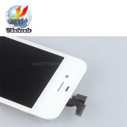 Branco e Preto Monitor LCD de ecrã táctil digitalizador para iPhone 4 3,5 polegadas Telefone móvel