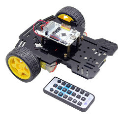 Ruilongmaker 2WD Smart робот автомобильный комплект совместимые с Arduino Ardublock для начинающих и стартера