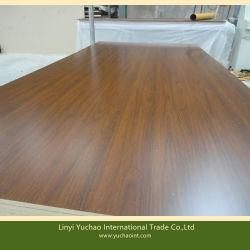 Un excelente grado de la melamina, madera contrachapada con núcleo de madera para mesa de oficina