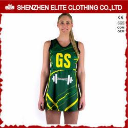 La sublimazione professionale di forma fisica ha stampato il vestito dalle uniformi del Netball delle signore (ELTNBJ-69)