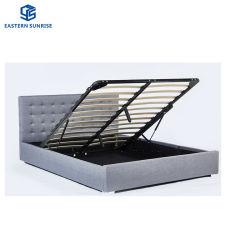 따뜻한 판매 우아한 디자인 홈 가구 더블 사이즈 침대