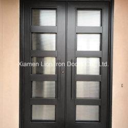 Entrate principali residenziali personalizzate del ferro saldato della villa