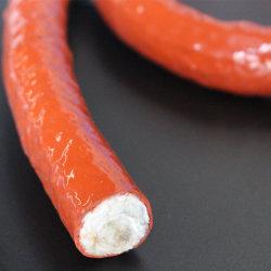 En fibre de verre recouvert de caoutchouc de silicone haute température de la corde