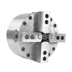 8 pouces à 4 tour de puissance hydraulique solide de la mâchoire Chuck Ky08-4