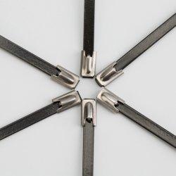 Шаровой шарнир стопорной тяги троса из нержавеющей стали с покрытием черного цвета