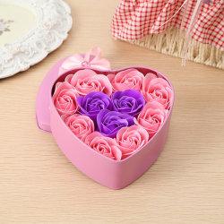 Novo Design Sabão Artificial Flowers Valentine's Dom Imortalizados Simulation Mini Rose bouquet de flores de simulação