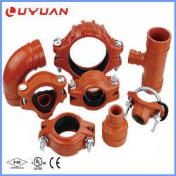Genutete Rohrverschraubung für Ölpipeline System mit FM/UL-Zertifikat