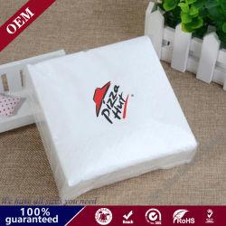Le papier imprimé serviette de table Serviettes personnelles Parti jetables en papier-tissu Hotel Restaurant Bistro fleur imprimé serviette de table