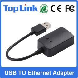 USB2.0 ao adaptador de rede de alta velocidade do Ethernet RJ45