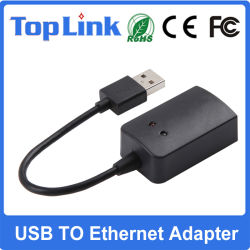 USB2.0 al adaptador de red de alta velocidad de Ethernet RJ45