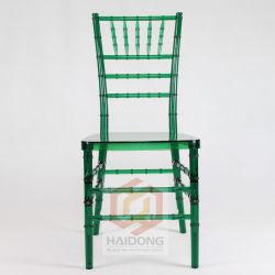 Im Freien KristallacrylplastikChivari Hochzeits-Stühle
