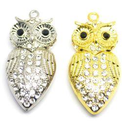 OWL Crystal U Disk Collana Diamond personalizzata USB Creative Accessories Disco regali U.