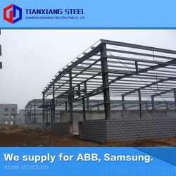 ASTM Heavy Prefab Steel Frame Structure Fabrication Pre-Engineered Metal Structural Building Steel Workshop (エクスポート 160 、 000MT )