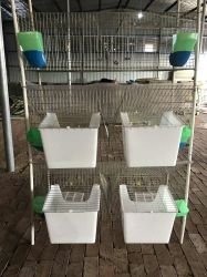 Hutch di coniglio della gabbia per il coniglio del bambino e della madre