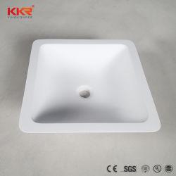 Оптовая торговля твердой поверхности в ванной комнате выше Counter прямоугольная раковина (190826)