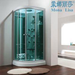 Monalisa coin salle à vapeur en fibre de verre acrylique autostable (M-8269)